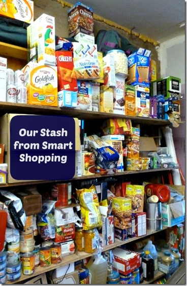 Our Stash from Smart Shopping