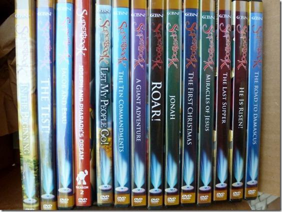Superbook Episodes on DVD