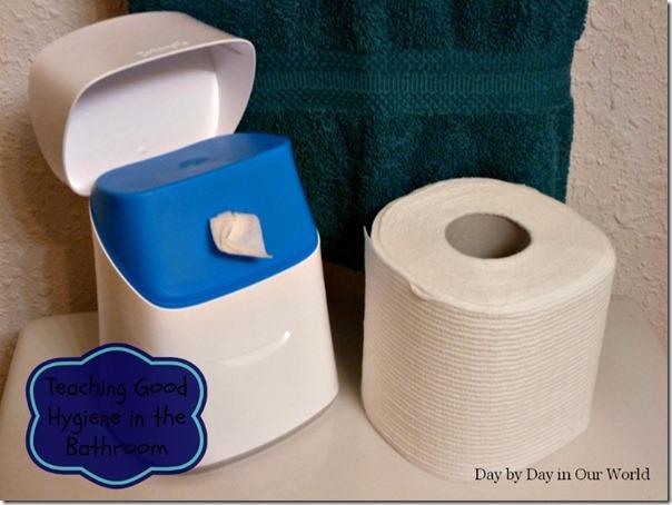 Teaching Good Hygiene in the Bathroom #CottonelleRoutine