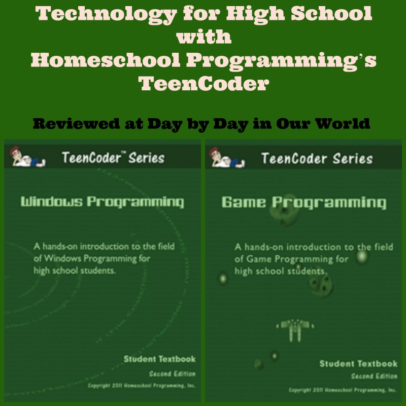 Technology for High School with Homeschool Programming's TeenCoder