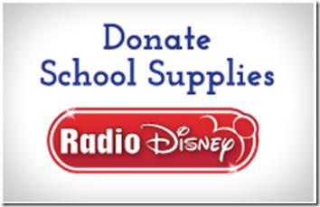 Disney BGCA School Supply Drive Back To School