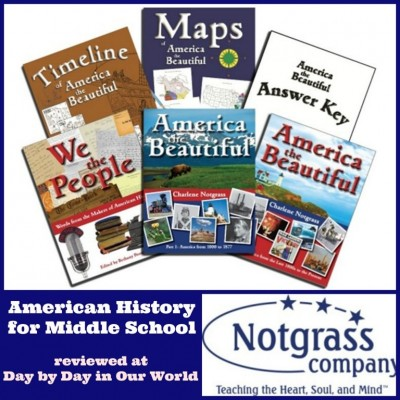 America the Beautiful from Notgrass Company: Interesting History for Homeschoolers