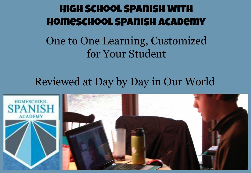 Homeschool Spanish Academy ~ High School Program | Day By Day in Our