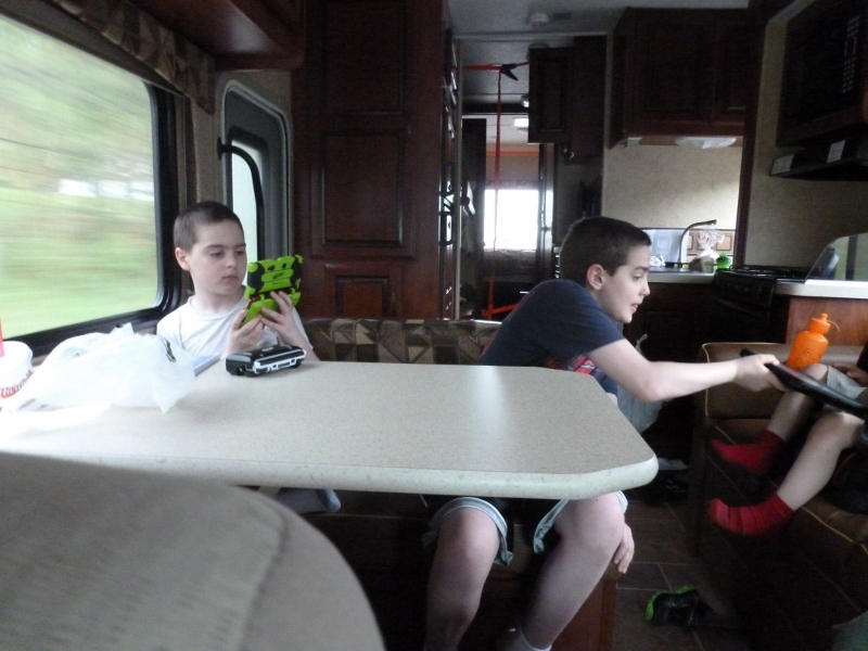Occupying Time While Traveling in the RV
