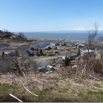 Clamming at Ninilchik, Alaska