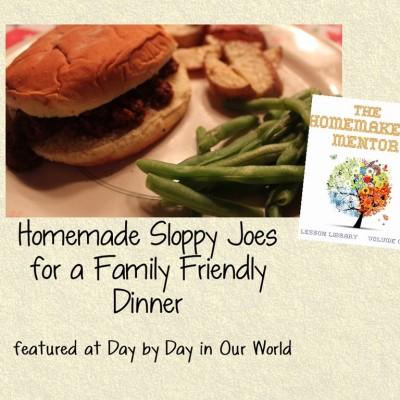 Homemade Sloppy Joes for a Family Friendly Dinner Foundation