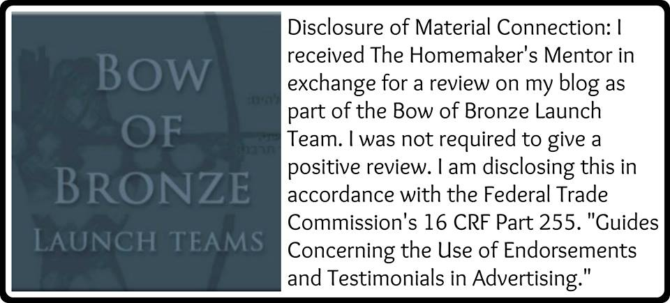 Bow of Bronze Launch Team Disclosure