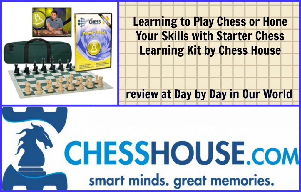 Learning to Play Chess or Hone Your Skills with Starter Chess Learning Kit by Chess House  #review