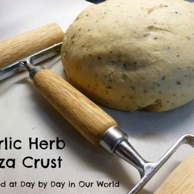Garlic Herb Pizza Crust