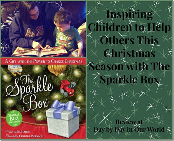 Inspiring Children to Help Others This Christmas Season with The Sparkle Box