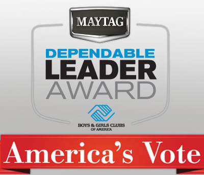 Vote Now for the 2013 Maytag Dependable Leader Award #MC