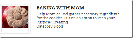 Baking with Mom Created CWIST