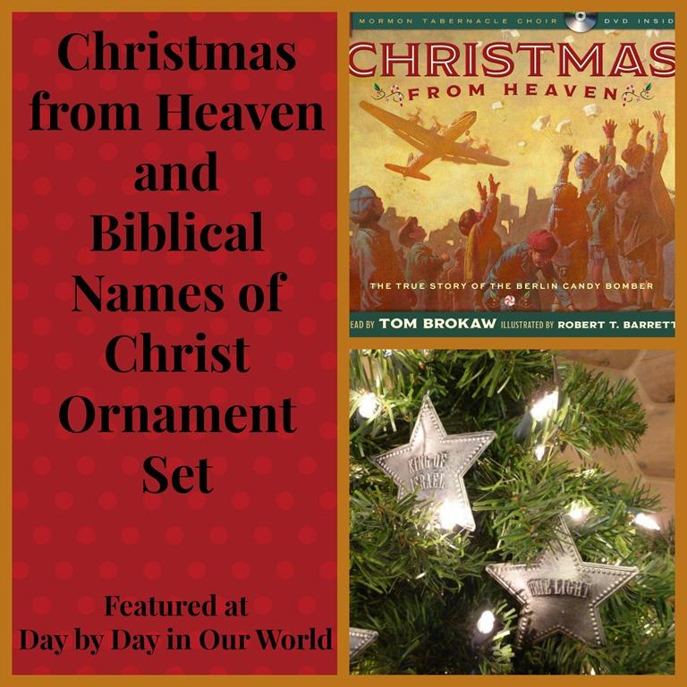 Christmas From Heaven.Christmas From Heaven And Biblical Names Of Christ Ornament