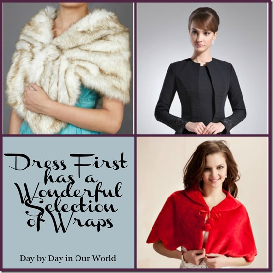 Dress First Has A Wonderful Selection of Wraps #sponsored #fashion