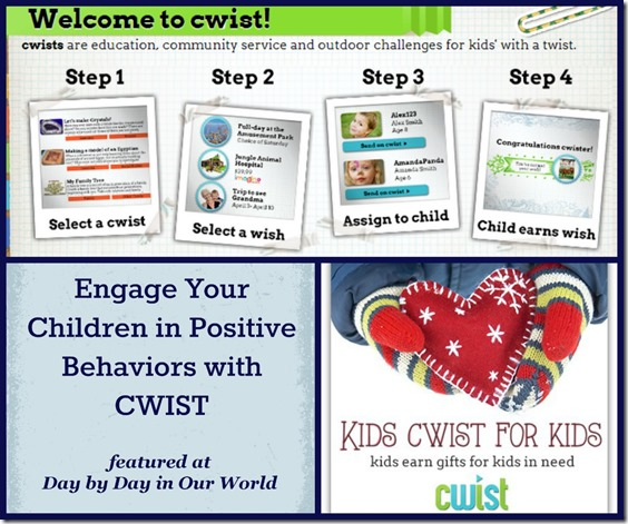 Engage Your Children in Positive Behaviors with CWIST #Sponsored #MC at Day by Day in Our World