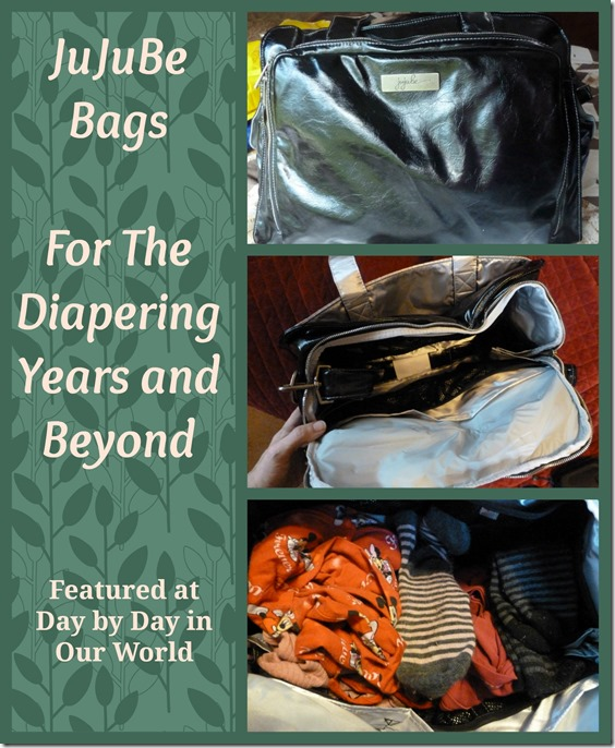 JuJuBe Bags for the Diapering Years and Beyond Featured at Day by Day in Our World