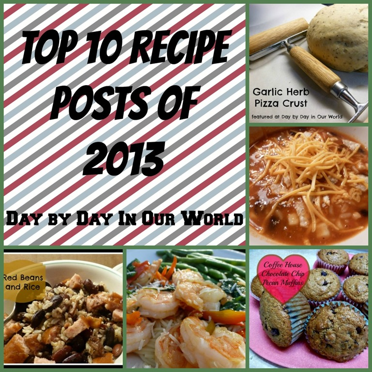 Top 10 Recipe Posts of 2013