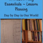 5 Days of Homeschooling Essentials ~ Lesson Planning