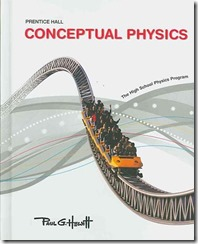Conceptual Physics Cover