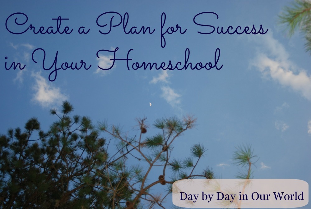 5 Days of Homeschooling Essentials ~ Create a Plan for Success