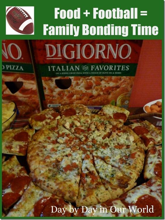 Food Plus Football For Family Bonding Time