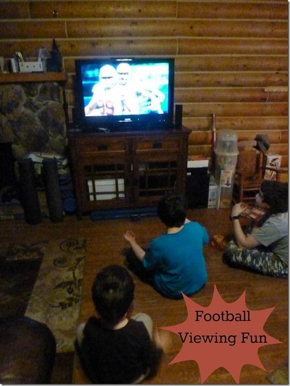 Football Viewing Fun
