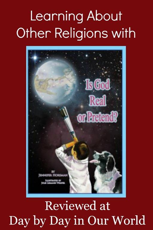 Is God Real Or Pretend? by Jennifer Horsman