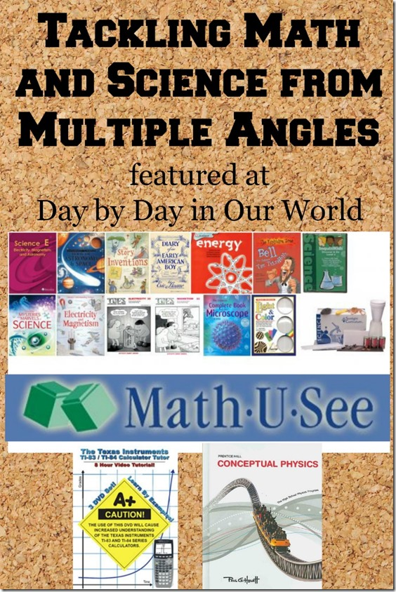 Tackling Math and Science from Multiple Angles