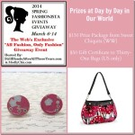Spring Fashionista 2014: Sweet Chiquita and Thirty-One Gifts #FashionistaEvents