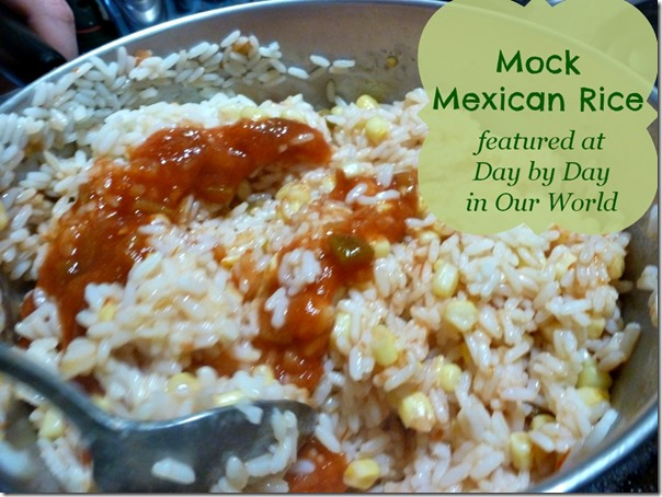 Mock Mexican Rice