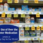 Safe Use of Over the Counter Medication #GutCheckAGA