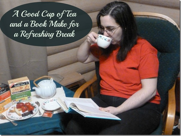 A Good Cup of Tea and a Book Make for a Refreshing Break  #AmericasTea #CollectiveBias