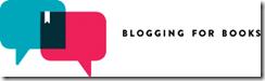 Blogging for Books Logo