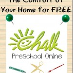 Teaching Your Child for Free with Chalk Preschool