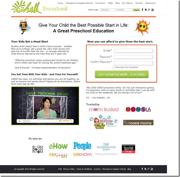 Signup   Chalk Preschool Online #Ad