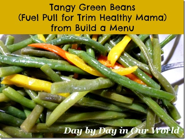 Tangy Green Beans from Build a Menu
