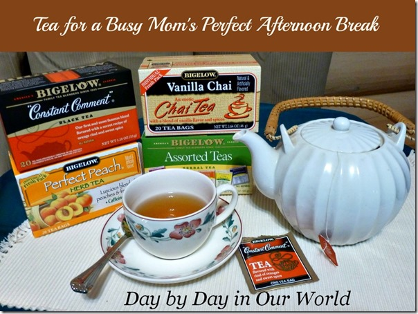 Tea for a Busy Moms Perfect Afternoon Break #AmericasTea #CollectiveBias