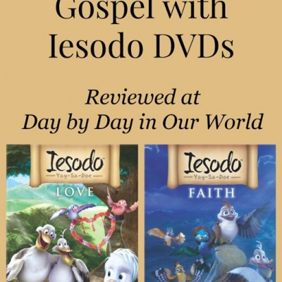 Teaching Kids the Gospel with Iesodo DVDs