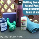 Battling Sweat with Natural Personal Care Products