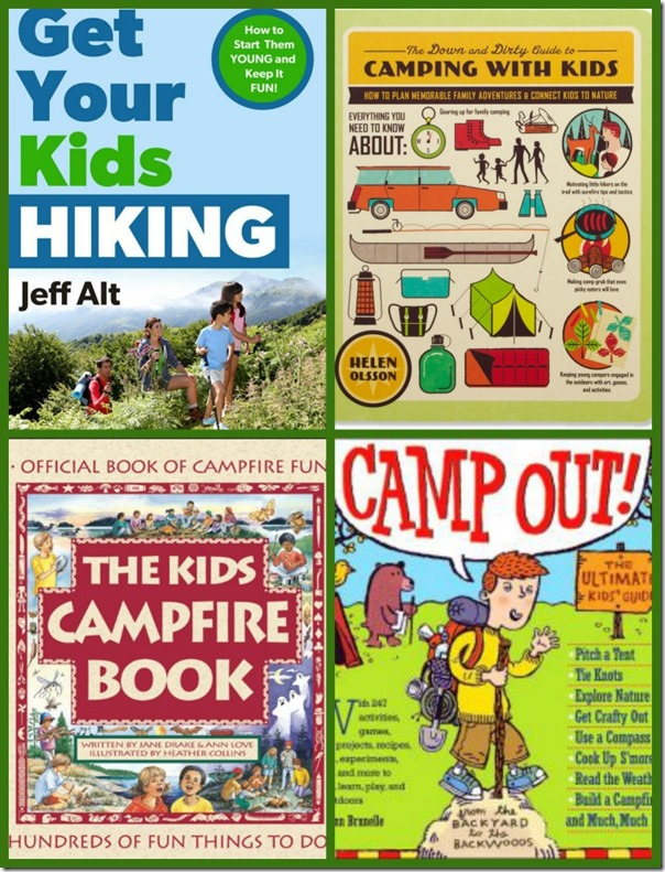 Books for Camping and Hiking with Kids