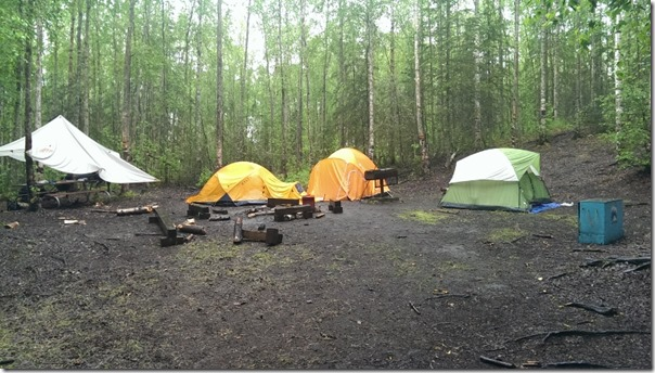 Werewolf Patrol Campsite Boy Scout Camp Gorsuch Alaska 2014
