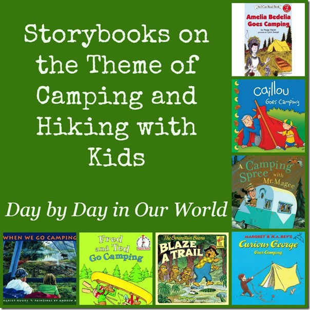 Storybooks on the Theme of Camping and Hiking