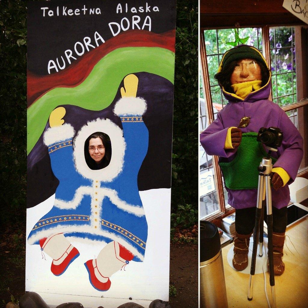 Aurora Dora in Talkeetna Alaska
