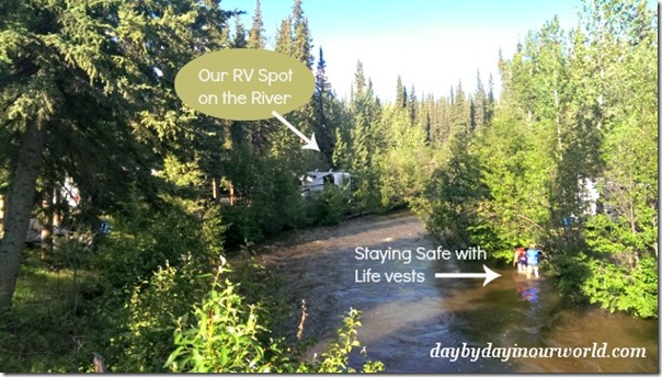 Camping Along the River July 2014