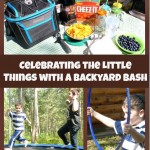Celebrating the Little Things with a Backyard Bash