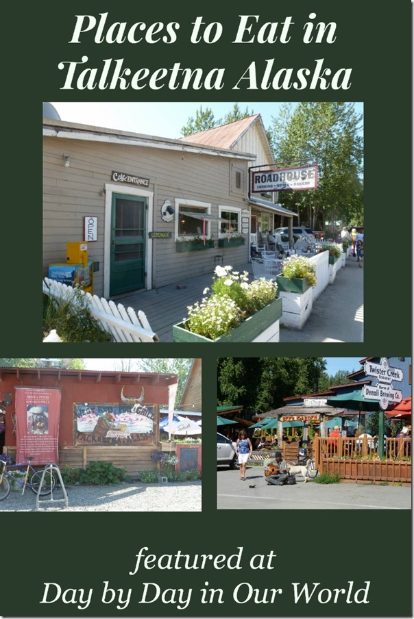 Places to Eat in Talkeetna Alaska