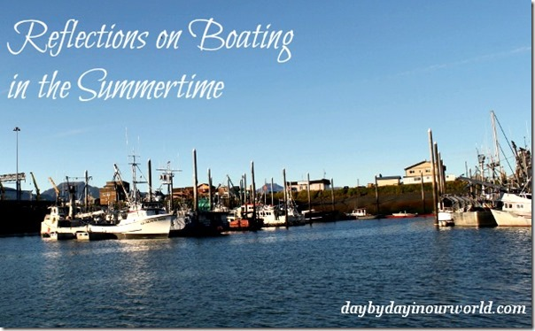 Reflections on Boating in the Summertime