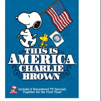 This is America, Charlie Brown!