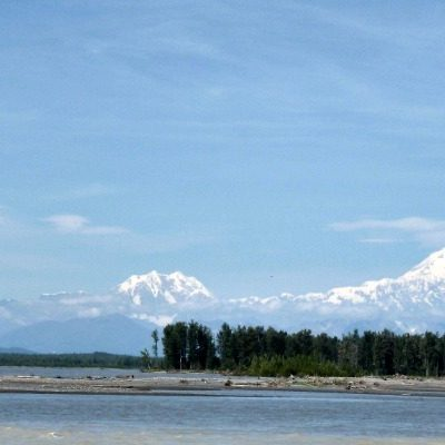 Taking in Gorgeous Views of Denali from Talkeetna
