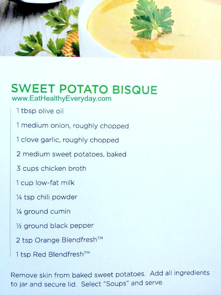 Blendfresh soup recipe
